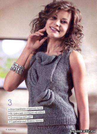 Популярный журнал по вязанию от итальянских дизайнеров в обновленном виде.  Теперь на страницах журнала вы сможете...