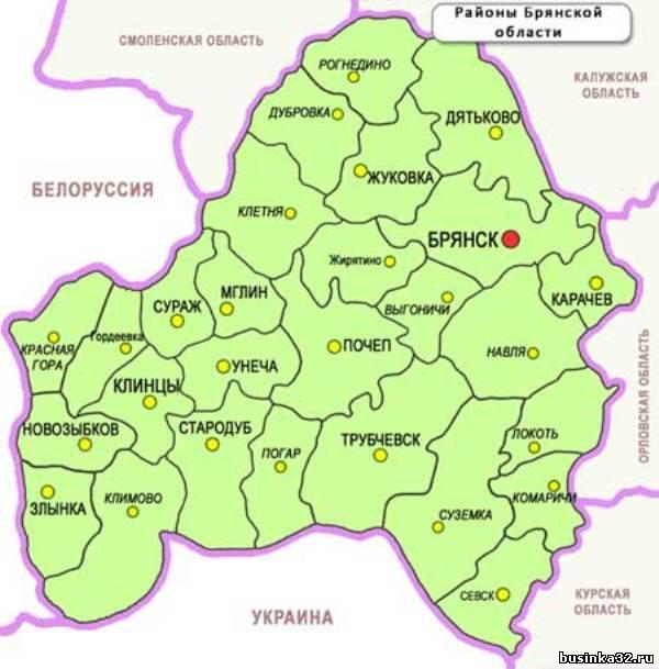 Продажа земли в городе злынка брянской области