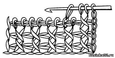 группа тунисское вязание