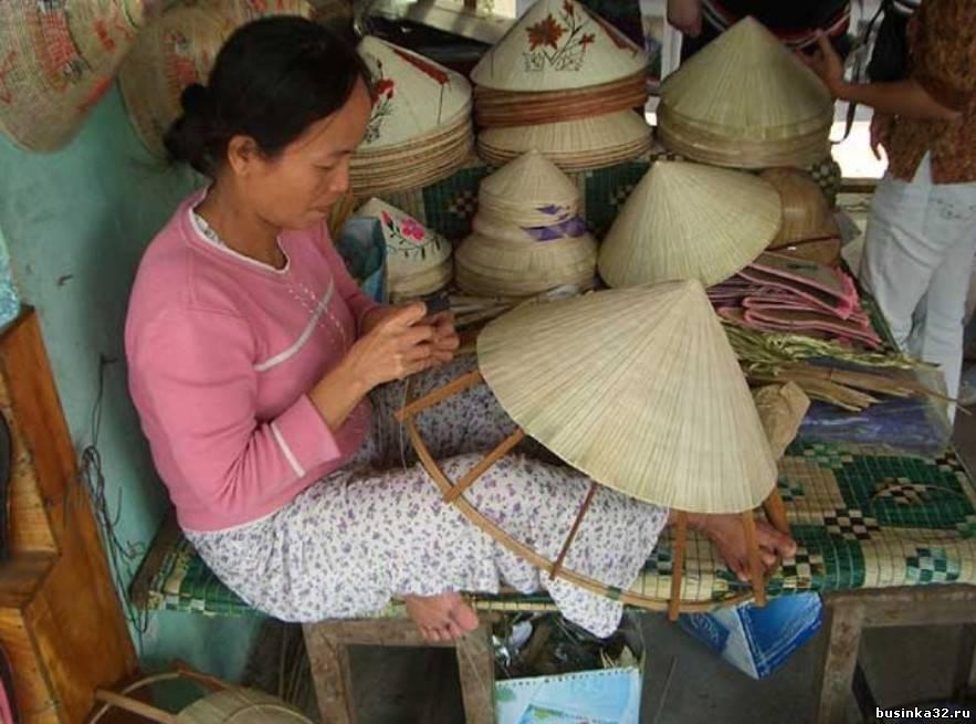 Как сделать шляпы вьетнамцами