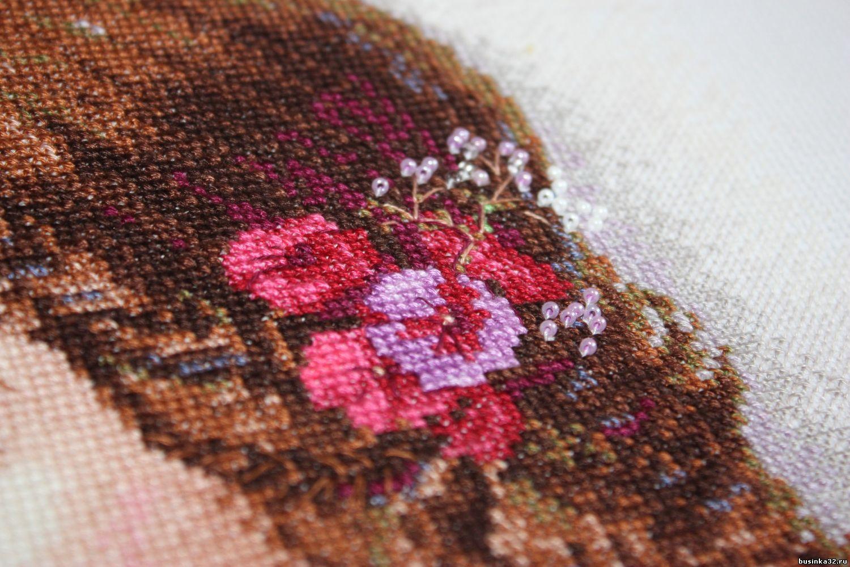 Очарование лета вышивка риолис