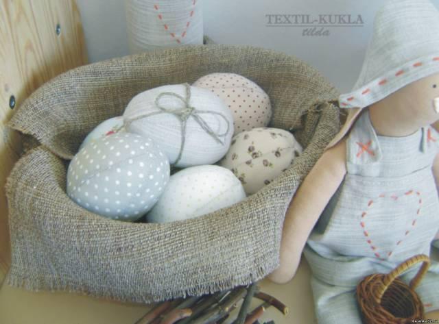Текстильные курочки своими руками пасха