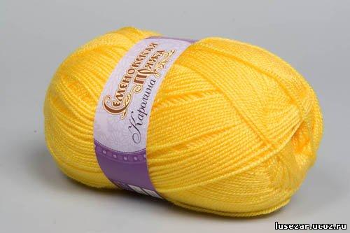 Акриловая нитка для вязания