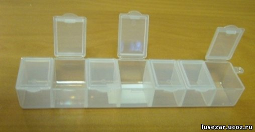 Как сделать  коробочки для бисера